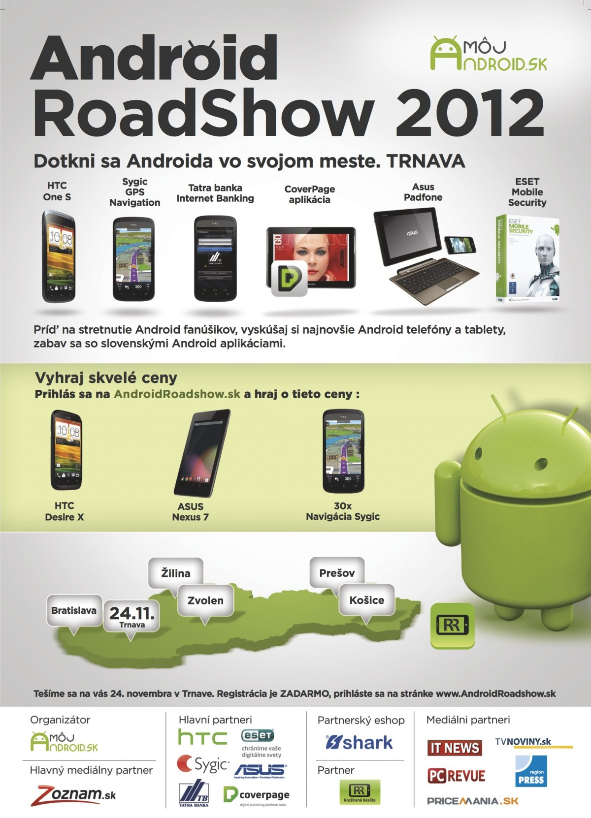 Android Road show invitation